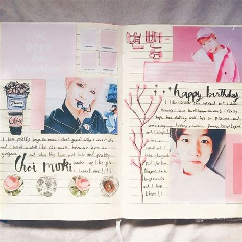kpop instagram themes 57 likes 7 comments kpop journaling ماسة