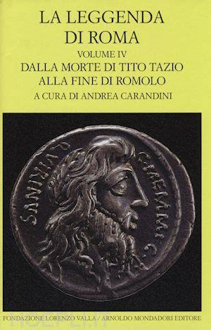 libreria hoepli roma la leggenda di roma vol iv carandini a curatore