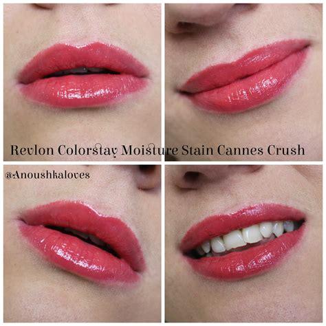 Revlon Colorstay Moisture Stain lipstick week revlon colorstay moisture stain cannes