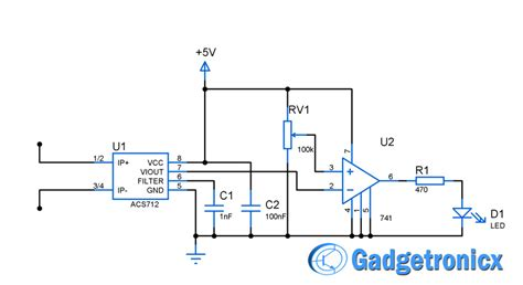 current sensor switch circuit gadgetronicx
