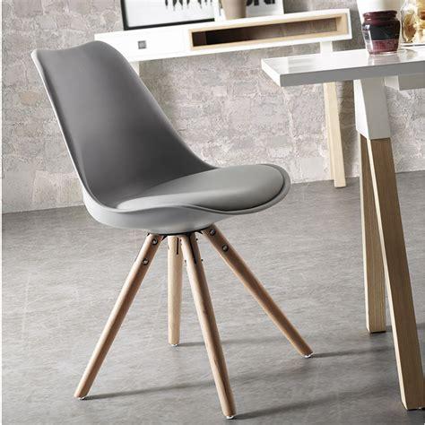 immagini sedie moderne sedia moderna in legno grigio bianco o nero felix
