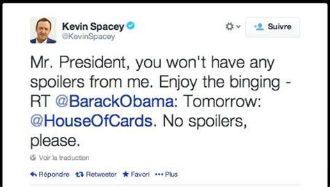 obama house of cards thomas jamet on twitter quot g 233 nie quot house of cards quot kevin spacey promet d 233 viter les