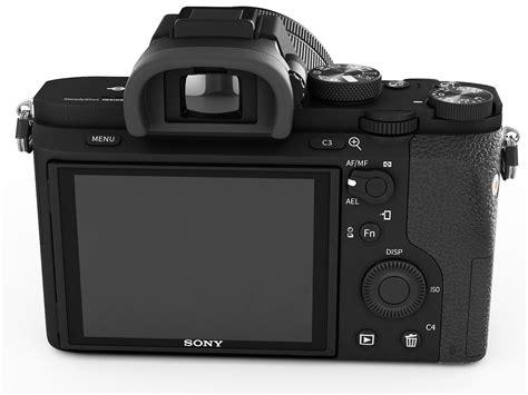 Sony 7 Ii sony alpha 7 ii with two lenses 3d model