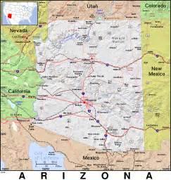 arizona us map az 183 arizona 183 domain maps by pat the free open