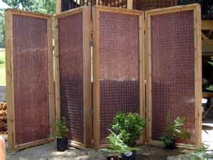sichtschutz stellwand terrasse diy patio privacy screens the garden glove