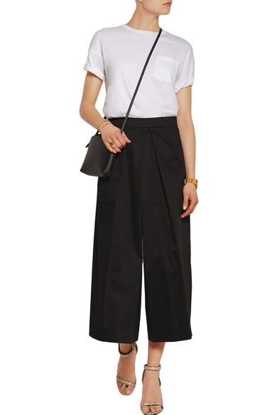 culottes tome 2 tome cotton sateen culottes net a porter com
