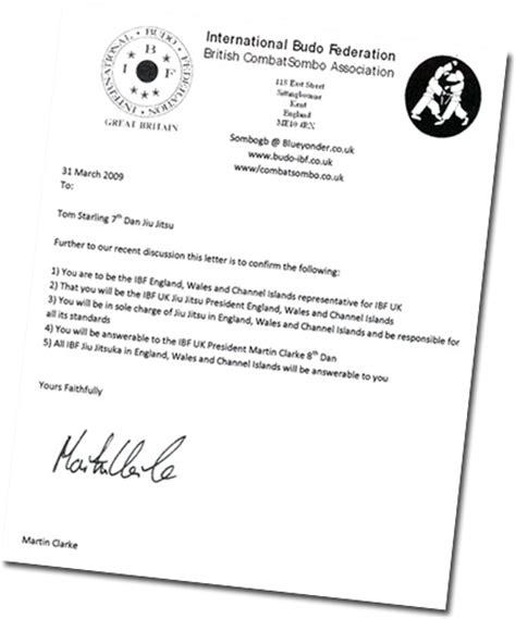 Karate Promotion Letter History Of The International Budo Federation About Us Ibf Jiu Jitsu Kobudo