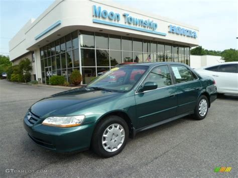 2002 noble green pearl honda accord lx sedan 67644765