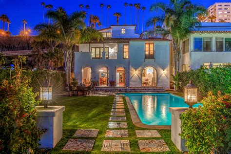 mansion global a santa monica beachfront mansion fit for a film star