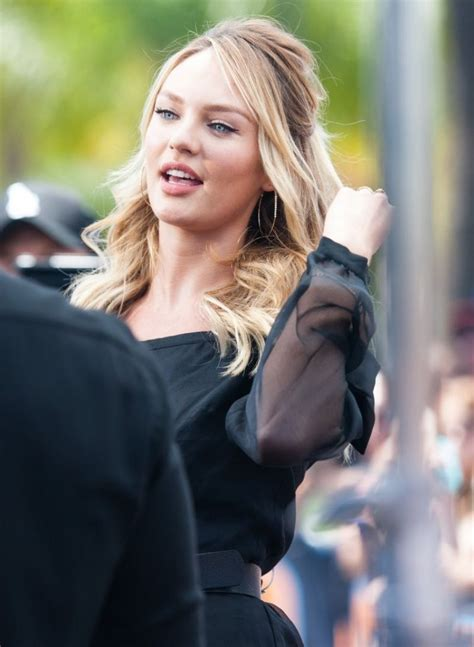 Candice Set candice swanepoel set photos in universal city june 2014