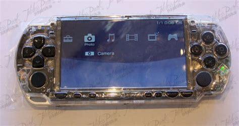 Ds Light Mod From Acidmods Techie Divas Guide To Gadgets by Best Psp Mod Adds Leds Joystick Slashgear