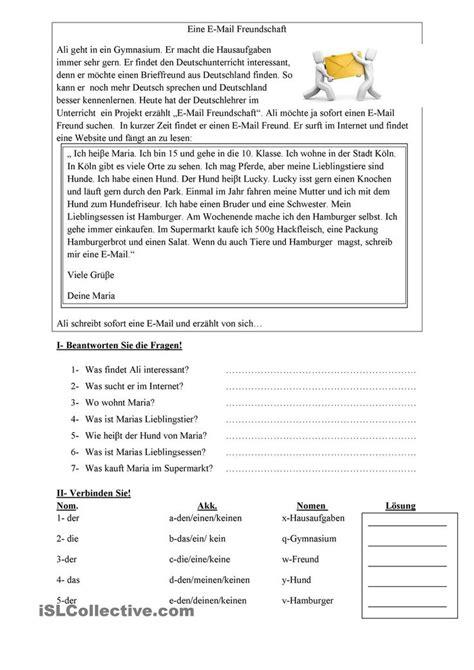 Offizieller Brief Englisch Beispiel 81 Besten German Brief Email Und Sms Schreiben Bilder Auf Lernen Bildung