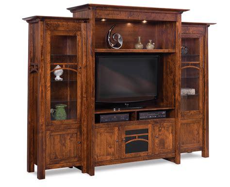 artesa home theater  piece wall unit amish furniture