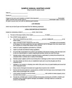 simple land lease agreement template sle lease agreement 23 free documents in