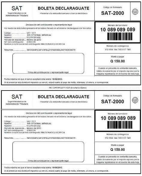 pagos provisionales de isr de las personas contadormx boleta de pago sat 2000