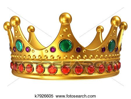 stock illustration of golden royal crown k7926605 search