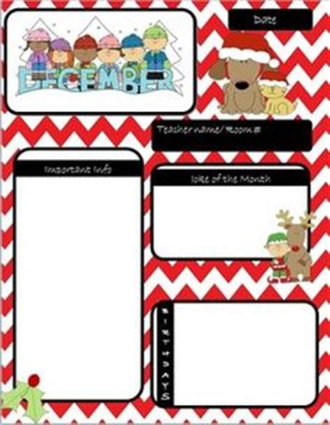 december newsletter template powers of 10 math 5 nbt 2 december and templates