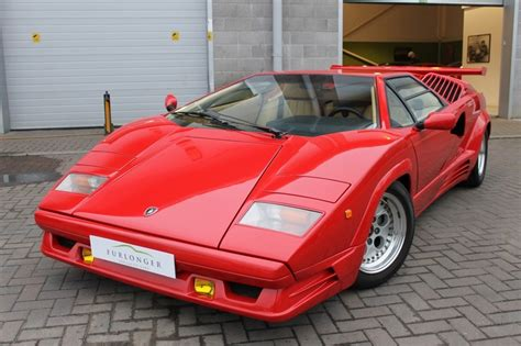 1990 Lamborghini Countach For Sale Lamborghini Countach Aniversary 1990 Sold Classicdigest