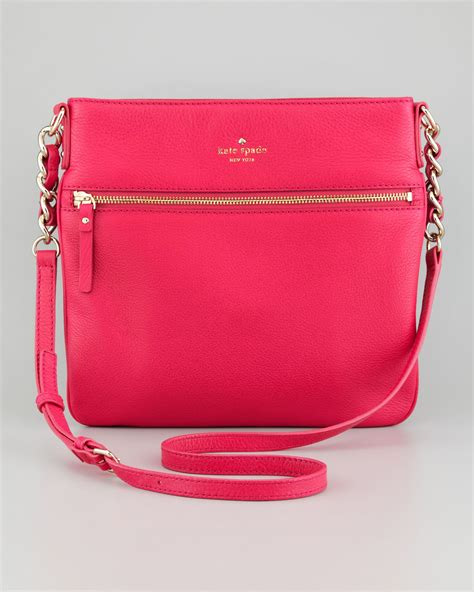 Buy 1 Get 1 Free Kate Spade L9009 kate spade pink crossbody bag burke leather totes