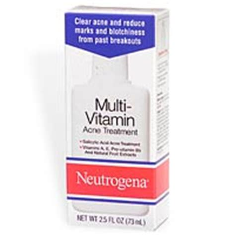 Neutrogena Multi Vitamin about neutrogena multi vitamin acne treatment