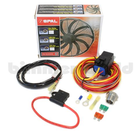 electric fan relay install electric fan wiring harness relay kit 37 wiring diagram
