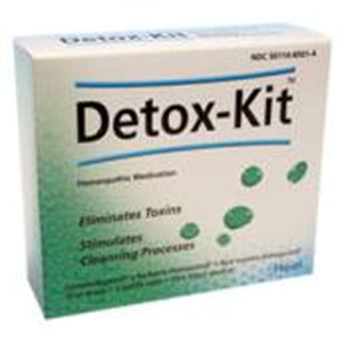 Kit Detox Heel by Heel Detox Kit Heavy Metal Detoxification Biological