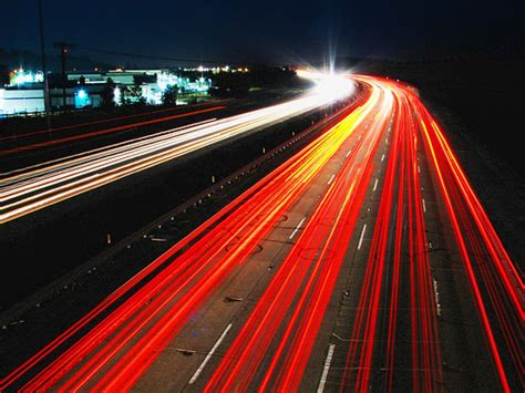 photograph lights picturespool traffic blurry photography light