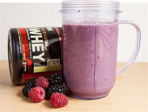 protein smoothies 9 healthy whey protein recipes
