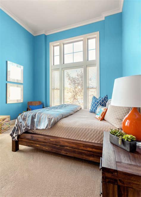 peinture bleu chambre couleur de peinture pour chambre enfant chambre conseil