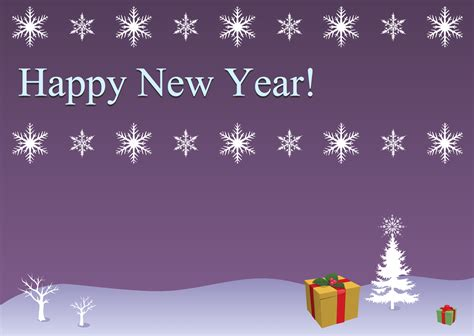 new year card template free solution clipart conceptdraw