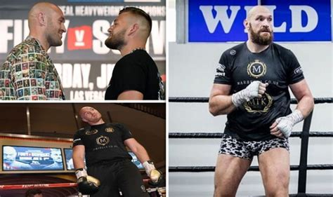 tyson fury  tom schwarz prize money    gypsy king earn  vegas fight sports