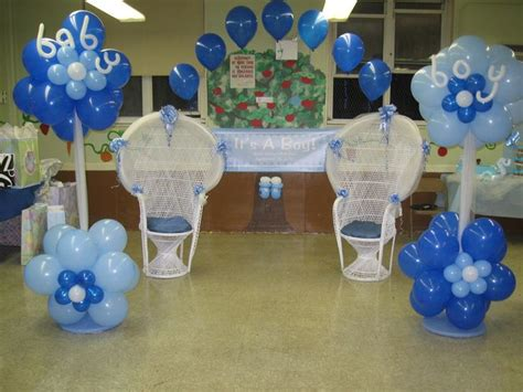 Blue Baby Shower Decorations by 1000 Images About Balloon Ideas On Baby