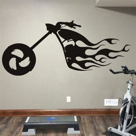 Motorized Decorations by Design Cheap Home Decoration Pvc Motor Bike Wall
