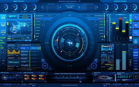 45 Hi Tech Wallpapers For Desktop And Laptops Crestron Gui Templates