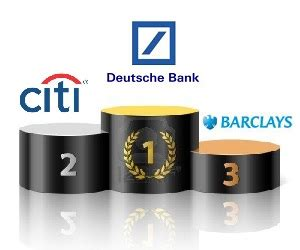 deutsche bank barclays deutsche bank barclays and citi the best banking and fx