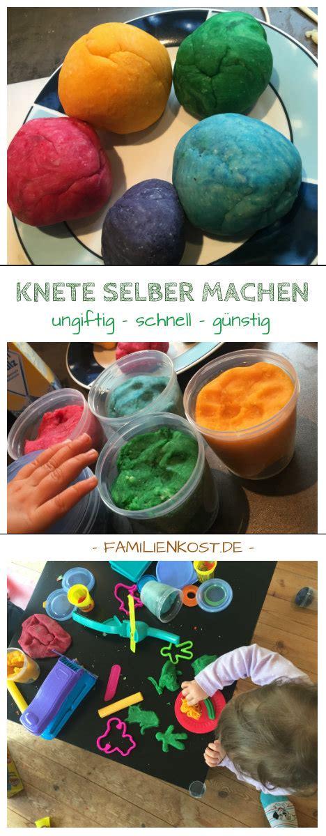 Knete Selber Machen Rezept by Knete Selber Machen Rezept Und Anleitung Mit Salz