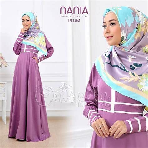 Afiah Dress Ori By Aidha nania by oribelle style plum