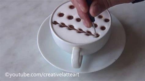 coffee milk design tutorial creative latte art for beginners tutorial 10 youtube