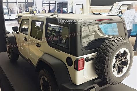 New Jeep 2018 Models by 2018 Jeep Wrangler Roof Design Previewed In Clay Models