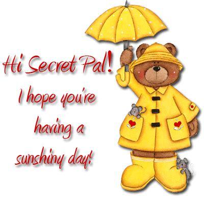 for secret pal secret pal cnotes writing