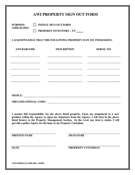 key sign out form template best photos of employee key sign out form employee key