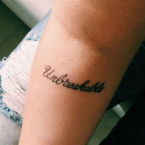 unbreakable tattoo best 25 unbreakable ideas on white