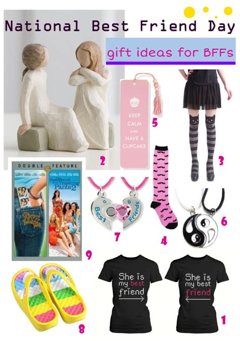 day gift ideas for friends national best friend day 8 gift ideas for your best
