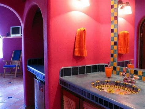mexican inspired home decor mexican decorating bathroom style decoration ideas