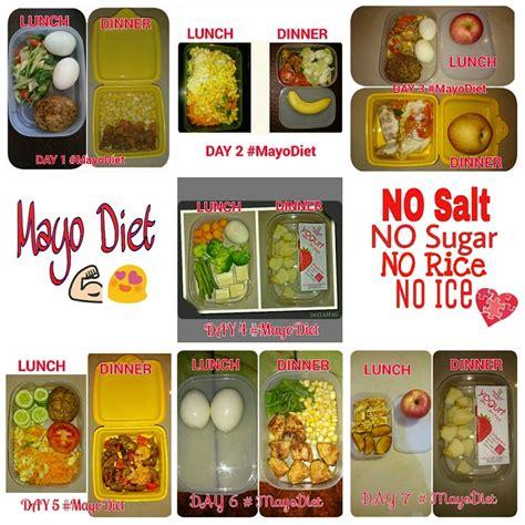 Masakan Untuk Diet Menurunkan Berat Badan pola makan dan menu diet mayo selama 13 hari mencegahpenyakit