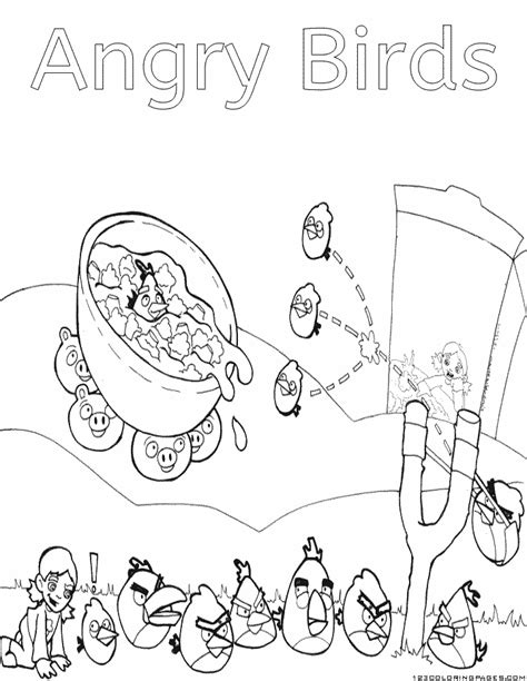 angry birds toons coloring pages angry birds coloring pages