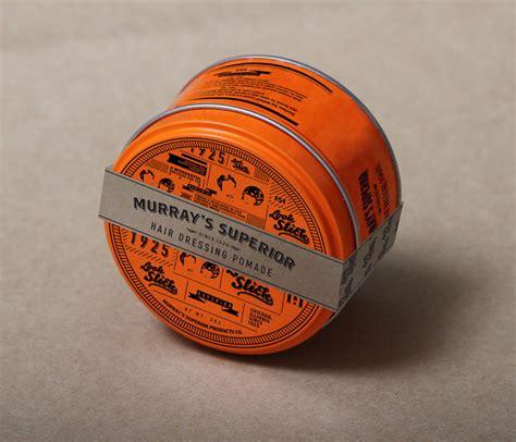 Pomade Murray Black student spotlight murray s superior hair dressing pomade the dieline packaging branding