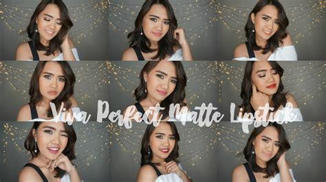 Eyeshadow Lokal Yang Matte review swatch viva matte lipstick bahasa putri marina