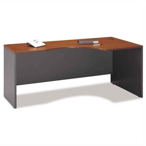 right hand corner computer desk bush business series c right hand corner desk with lateral