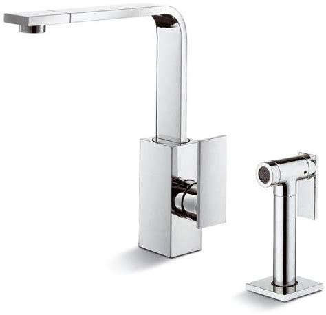 Modern Square Kitchen Faucets by Sleek Square Kitchen Faucets Abode